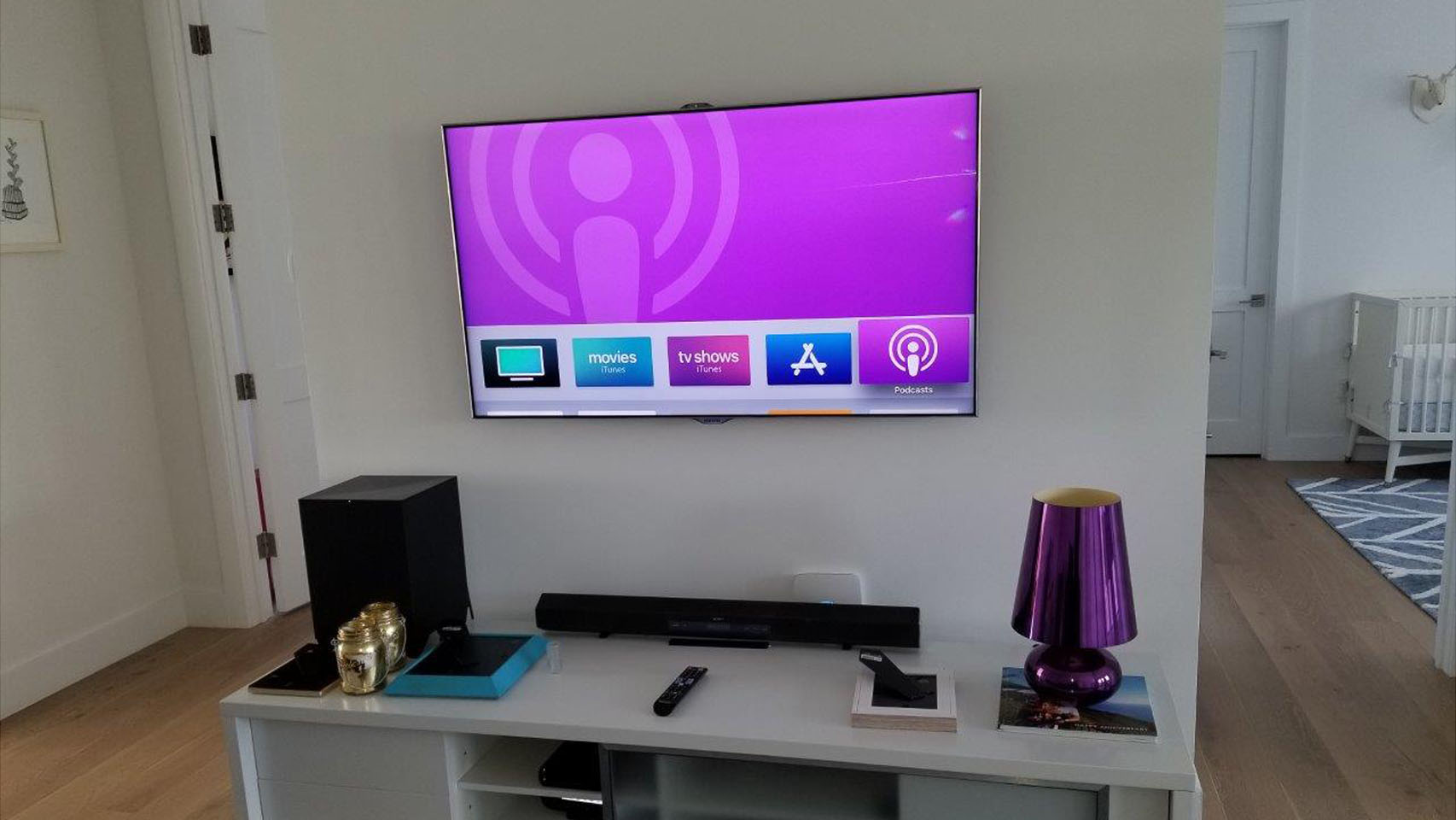 wall mounting TV installation service