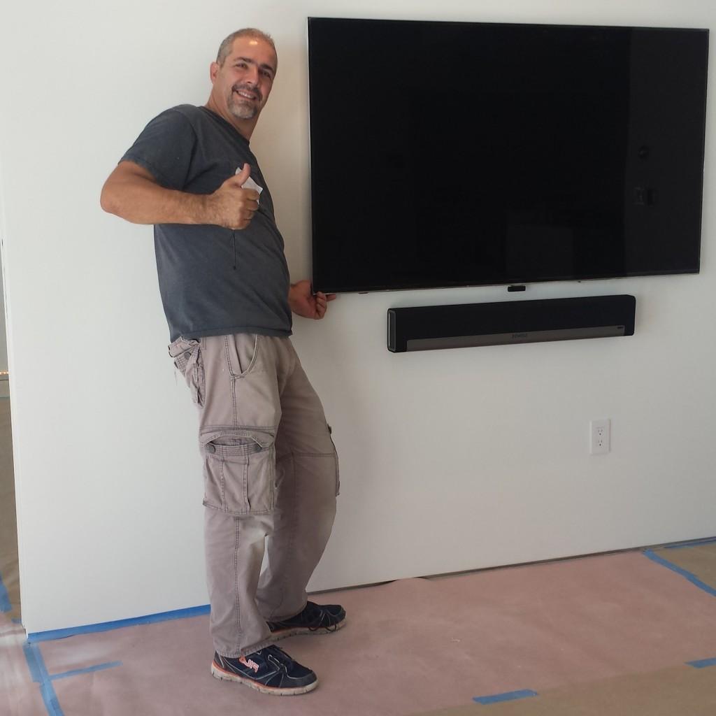 ariel con tv